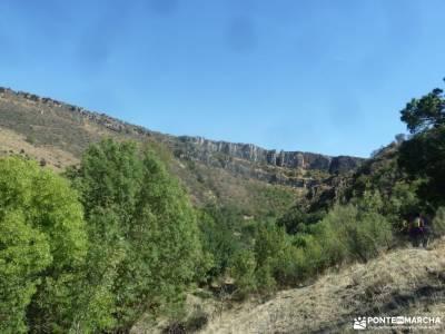 Atazar-Meandros Río Lozoya-Pontón de la Oliva-Senda Genaro GR300;camino schmidt partes de una mont